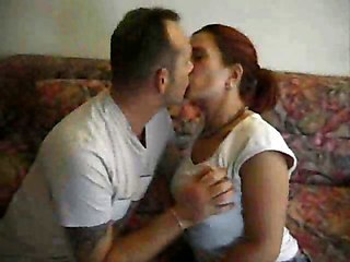 Amateur Hairy Kissing  Wife