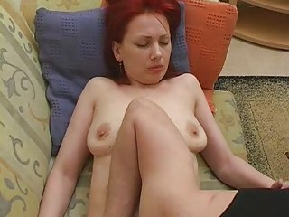 Mature Mom Old and Young Redhead Russian