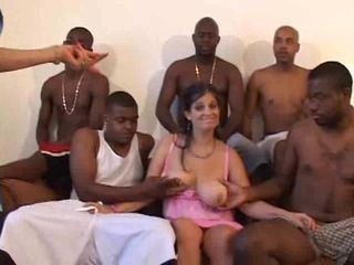 Gangbang Groupsex Interracial Mature