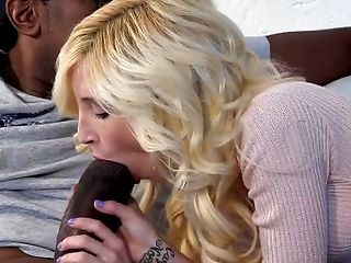Amazing  Blowjob Interracial