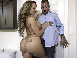 Amazing Ass Big Tits  Pornstar Toilet