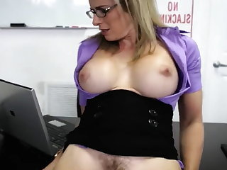 Amazing Big Tits Mature Teacher