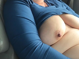 Amateur Car Masturbating Mature Wife