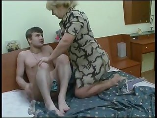 Family Mature Old and Young Russian