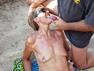 Bukkake Cumshot Facial Outdoor Piercing  Wife