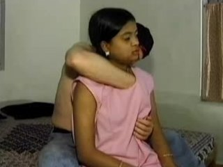 Apprehensive Indian teen doesn't gain in value his nipple massage techniques