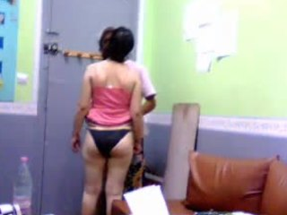 Punjabi hottie gets will not hear of pain in the neck smacked added to then some in this voyeur video