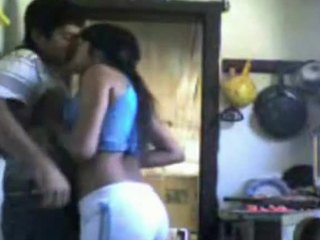 Frantic fuck chapter featuring a young Indian couple in the kitchen