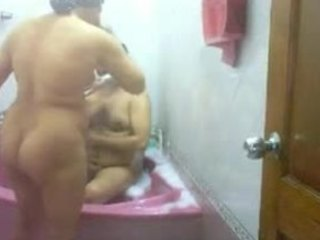 Amateur Bathroom Homemade Indian