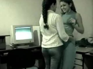 HiddenCam Indian Lesbian Office Voyeur