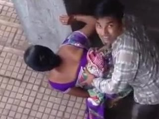 Amateur Doggystyle Indian Public Wife