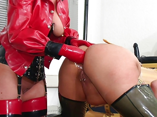 Ass  Fetish Fisting Latex Lesbian Piercing
