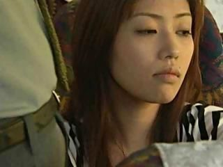 Amateur Asian Bus Japanese Public