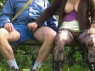 Amateur Big Tits Handjob Outdoor Pantyhose Public