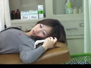 Asian Babe Cute Doctor