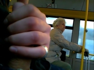 Bus Fetish Masturbating Public