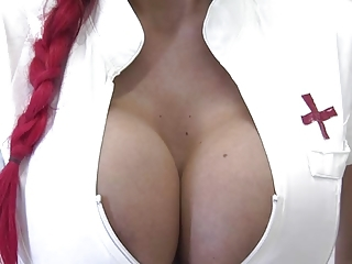 Big Tits Nurse Pornstar Silicone Tits Uniform
