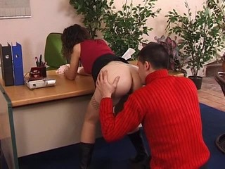Ass Office Stockings