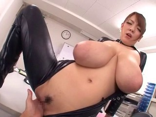 Asian Big Tits Latex Nipples
