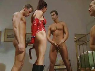 Groupsex Handjob Latex