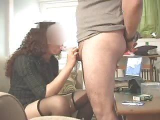 Amateur Blowjob Clothed Stockings