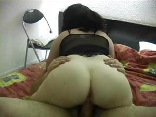 Amateur Ass Chubby Girlfriend Homemade Riding