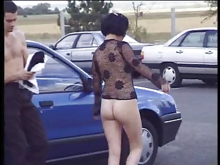 Ass Car Outdoor Public