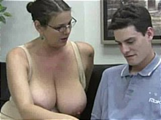 Big Tits Glasses Old and Young