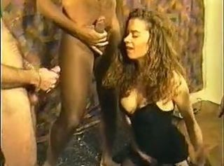 Amateur Blowjob European French Gangbang Interracial