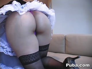 Ass Latina Maid Stockings