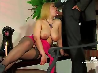 Big Tits Blowjob Russian Stockings