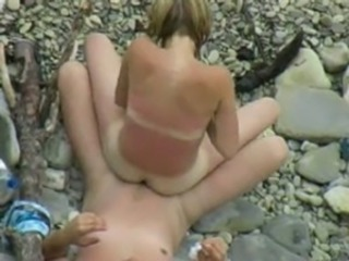 Beach Girlfriend Nudist Outdoor Riding