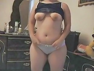 Amateur Chubby Homemade Panty  Stripper