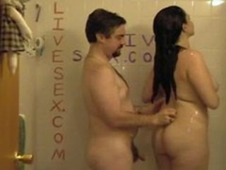 Amateur Chubby Girlfriend Homemade Showers