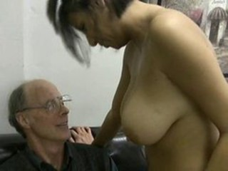 Big Tits Daddy Natural Old and Young