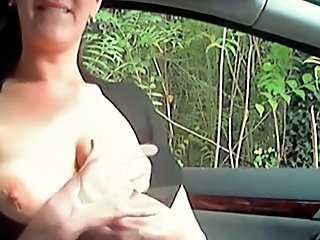 Amateur Car Girlfriend Nipples