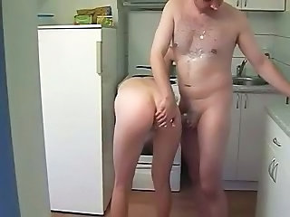 Amateur Ass Homemade Kitchen