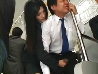 Asian Bus Handjob Japanese