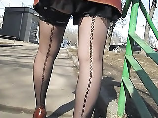 Legs Outdoor Public Stockings