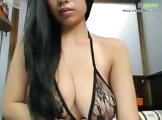 Amazing Big Tits Lingerie  Natural Solo Stripper Webcam