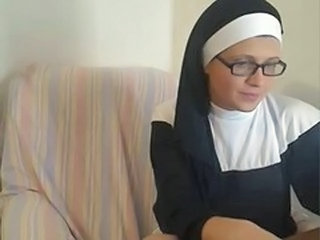 Glasses Nun Uniform Webcam