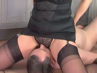 Facesitting Femdom Panty Stockings