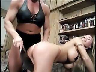 Muscled Spanking