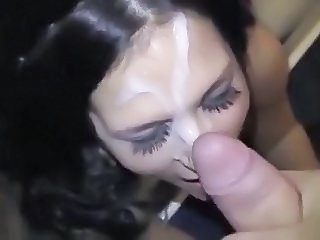 Amateur Cumshot Facial Girlfriend Pov