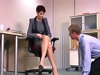 Feet Fetish Legs Office Secretary