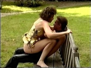Babe Clothed Outdoor Public Riding