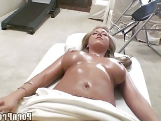 Babe Big Tits Massage Oiled