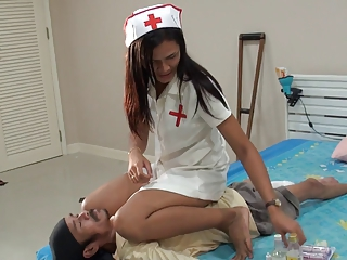 Facesitting Nurse Uniform