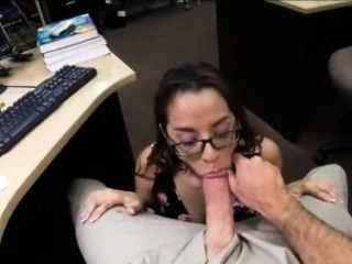 Amateur Blowjob Glasses Office Student