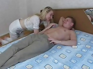 Amateur Blonde Homemade Mom Old and Young Russian